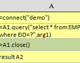 esProc Getting Started: Basic Usage of JDBC