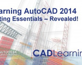 Learning AutoCAD 2014 Editing Essentials