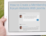 How to Create a Membership Forum Website With Joomla