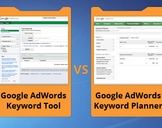 Difference between Keyword planner and Old Keyword Tool