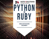 Python Vs Ruby- better for web development Services