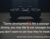 A video game programmer: Not all fun and games