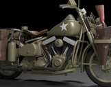 Create Captain America's Motorcycle with Blender