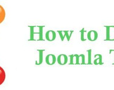 How to Develop Your First Ever Joomla Template?