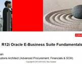 R12i Oracle E Business Suite Fundamentals - Advanced