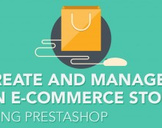 Create and manage an E-Commerce store using Prestashop