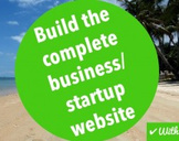 Build the complete business/startup website
