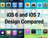 An Informative Guide Comparing iOS 7 with iOS 6
