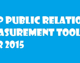 Top Public Relations Measurement Tools For 2015