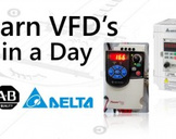 Learn VFD's in a Day- Wiring, Programming & PLC Interfacing