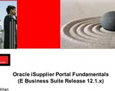 Oracle iSupplier Portal Fundamentals (Oracle EBS 12i)