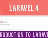 Introduction to Laravel 4