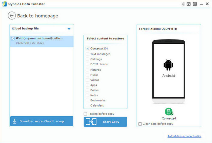 How to Transfer Your Contacts from iPhone to Android - Image 3
