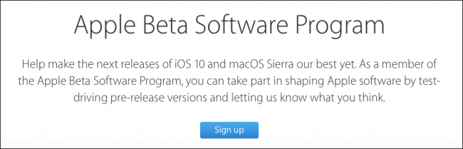 How to Install the macOS Sierra Public Beta - Image 2