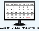 31 Days of Online Marketing Ideas