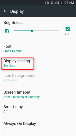 How to See More Info on Your Galaxy S6, S7, or Note 5's Screen with Display Scaling - Image 4