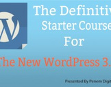 The Definitive Starter Course for The New WordPress 3.9