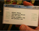 Update Business Cards Using Latest Tech Trends