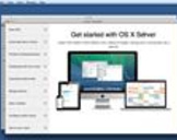 Up and Running with OS X Server App