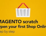 MAGENTO scratch - Open your first Shop Online - step by step