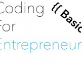 Coding for Entrepreneurs Basic