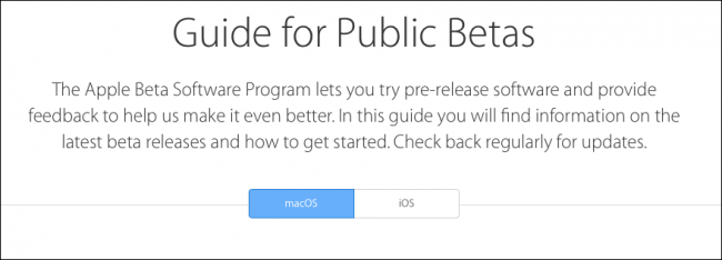 How to Install the macOS Sierra Public Beta - Image 5