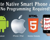 Make beautiful Android, iPhone, and HTML5 apps