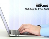 Asp.Net MVC Web App On 3 Tier Architecture
