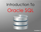 Introduction to Oracle SQL