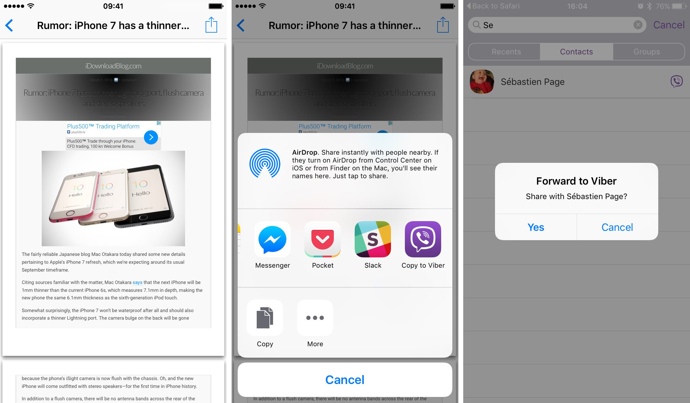 Use 3D Touch to Export PDFs on Your iPhone 6S - Image 4
