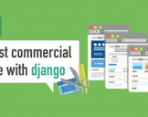 First commercial site with django