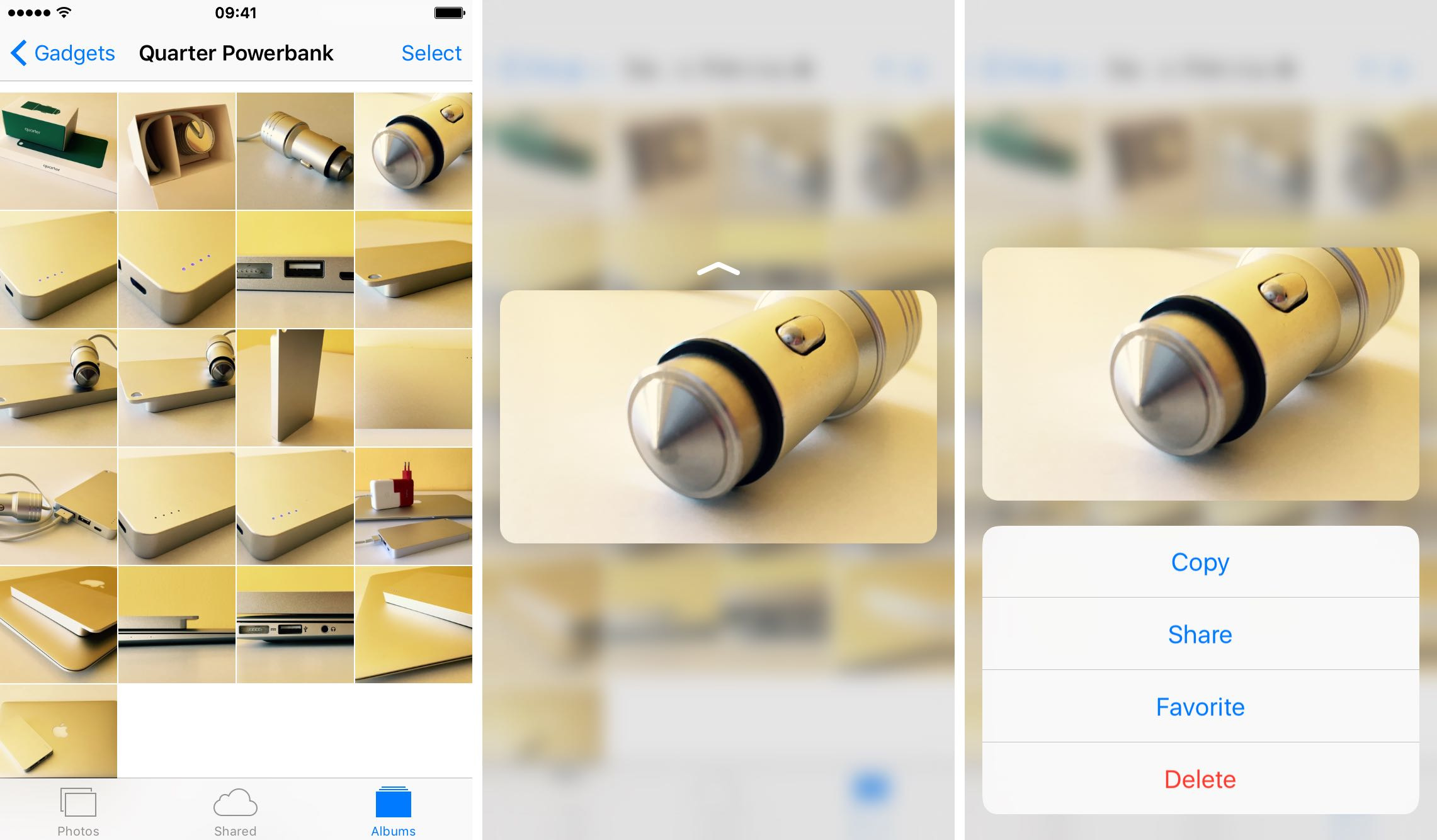 Sort through your photos like that with 3D Touch - Image 6