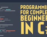 Programming for Complete Beginners in C#