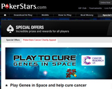 PokerStars Helps Cancer Research With Game App