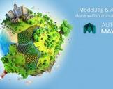 Model,Rig & Animate done within minutes using Autodesk Maya