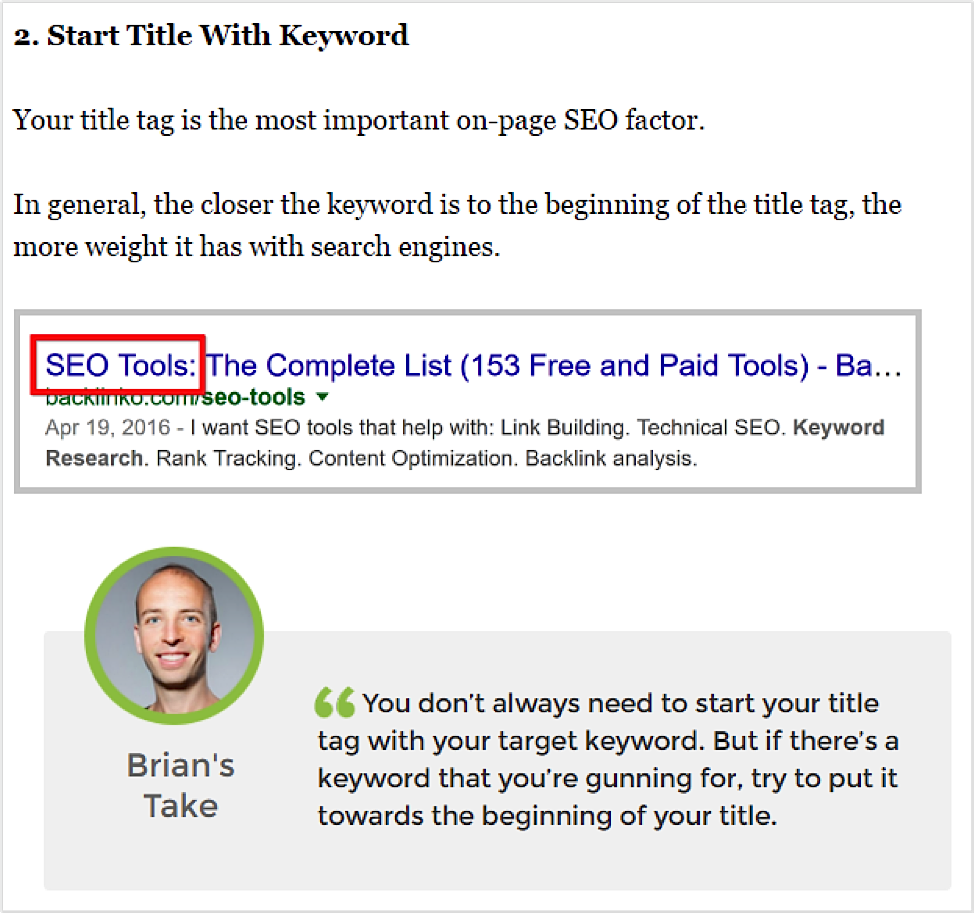 Effective SEO Techniques that Work In 2016 - Image 3