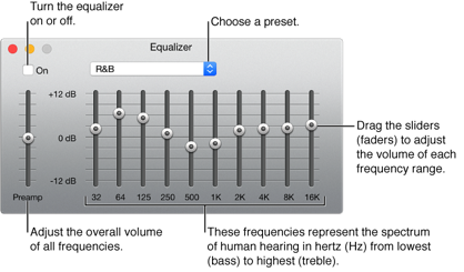 How to use equalizer in iTunes 12 to adjust the sound quality - Image 1