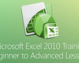 Microsoft Excel 2010 Training - Beginner to Advanced Lessons