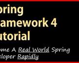 Spring Framework 4 Tutorial