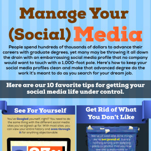 Manage Your (Social) Media [Infographic] - Image 1