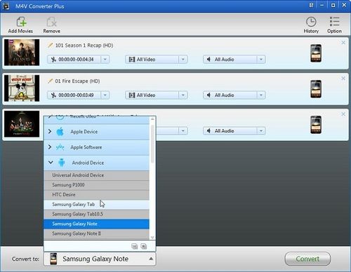 How to get Samsung Galaxy Note to play iTunes video files - Image 3