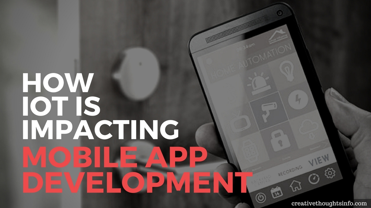 How IoT is Impacting Mobile App Development - Image 1