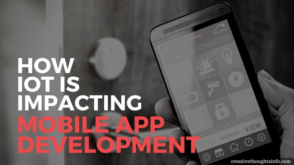 How IoT is Impacting Mobile App Development - Image 1