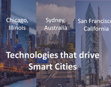 Technologies that drive smart cities