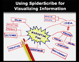 Using SpiderScribe for Visualizing Information