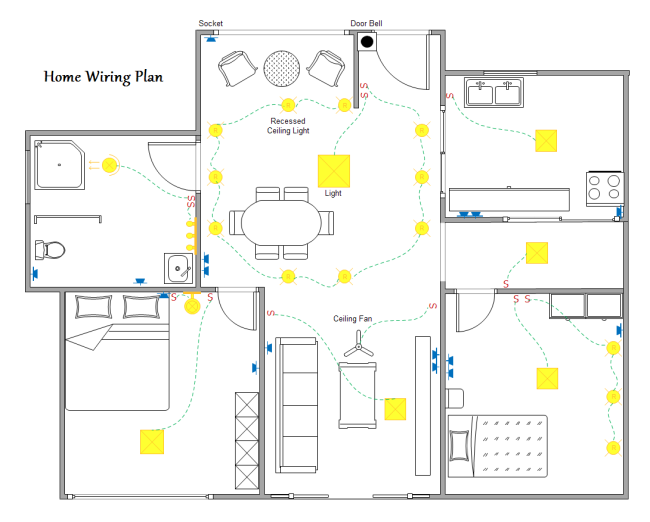 Beginner's Guide to Home Wiring Diagram - Image 7