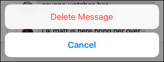 How to Delete or Forward Individual Text Messages on the iPhone - Image 5