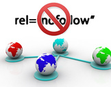 Do you pursue no follow links?