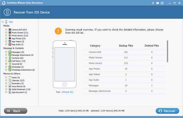 FonePaw iPhone Data Recovery - Image 1
