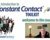 Introduction To Constant Contact Toolkit